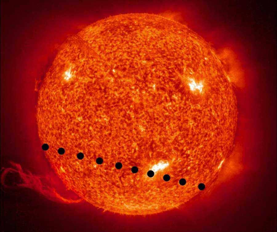 Sun with Venus in Transit