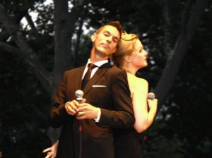 Ari Shapiro and Storm Large