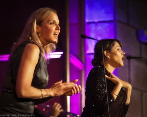 Storm Large and China Forbes