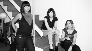 Sleater-Kinney 2015: Weiss, Brownstein, Tucker