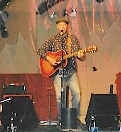 At the Alaskan Folk Fest, April, 2000