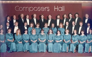 Where in the Choir is the Titian-Haired RTB? (Hint: She's Not the Strawberry Blond in the Front Row)