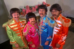 The Rutles: Ron, Barry, Dirk and Stig