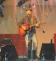 At the Alaskan Folk Fest, April, 2000
